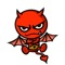 Little Devil - Cute devil stickers