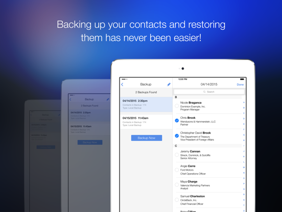 Cleanup Duplicate Contacts – Quickly and easily clean duplicates from your address book screenshot