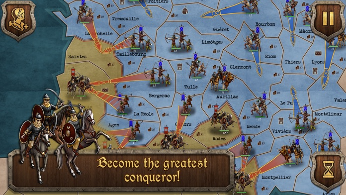 Strategy & Tactics Medieval Screenshot