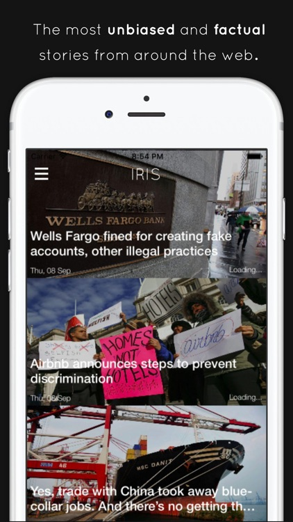 Iris - Unbiased & True Daily Breaking News Stories