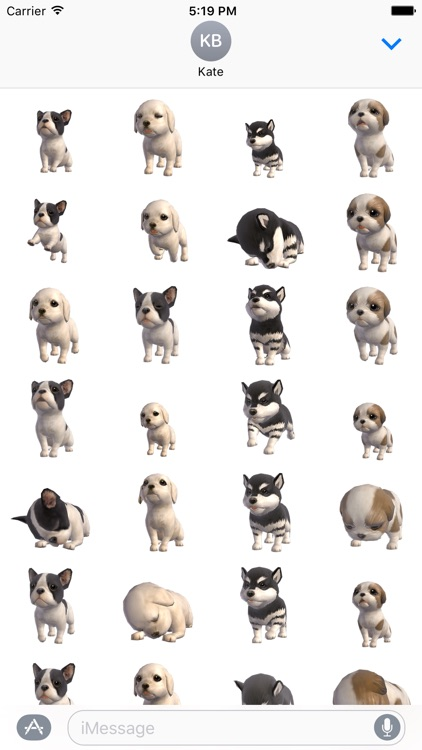Puppy Love - Animated Stickers