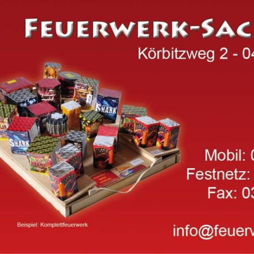 Feuerwerk Sachsen