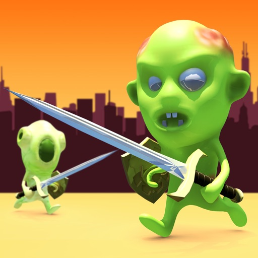 Zombie Run Showdown Pro icon