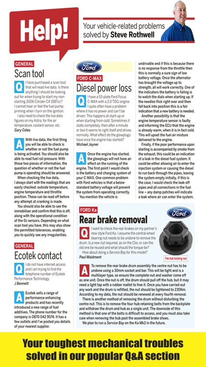 Car Mechanics Magazine screenshot-3