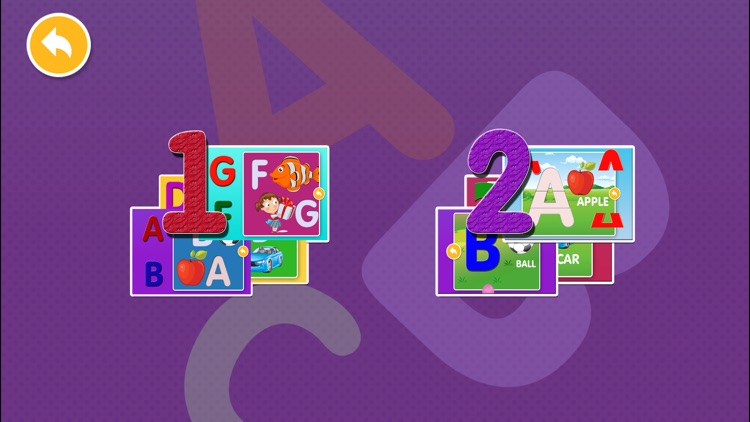 Alphabet Puzzles Games Kids & Toddlers free puzzle screenshot-4