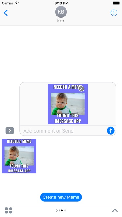 Meme Generator For IMessage Messages FREE In The App Store