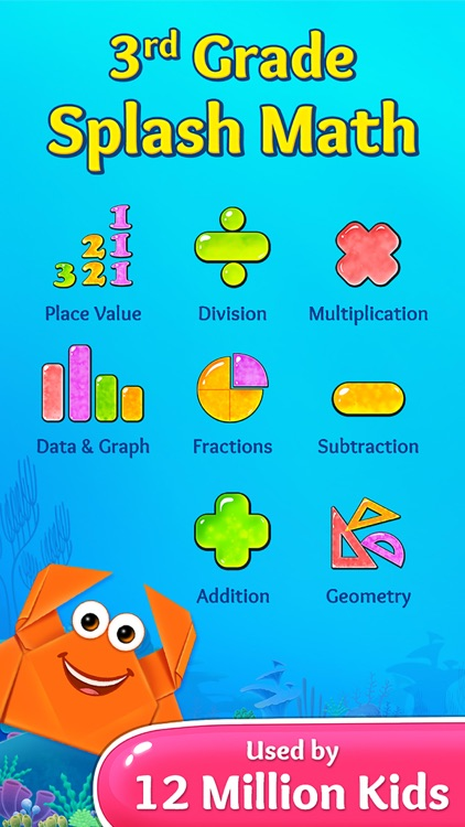 Third Grade Splash Math Games screenshot-0