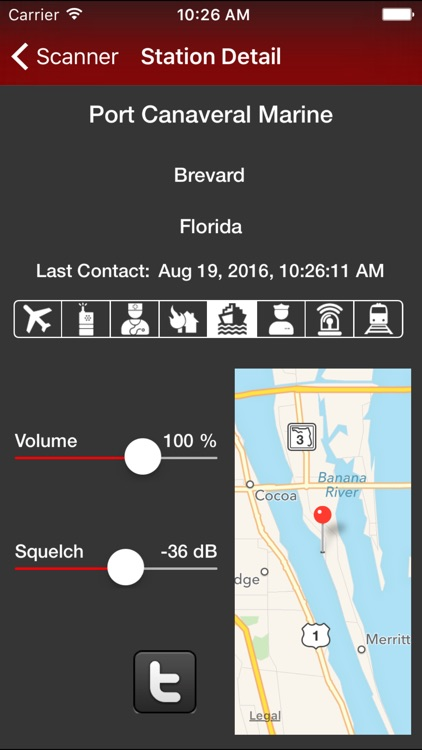 Action Scanner - Police, Fire, EMS and Amateur Radio screenshot-3