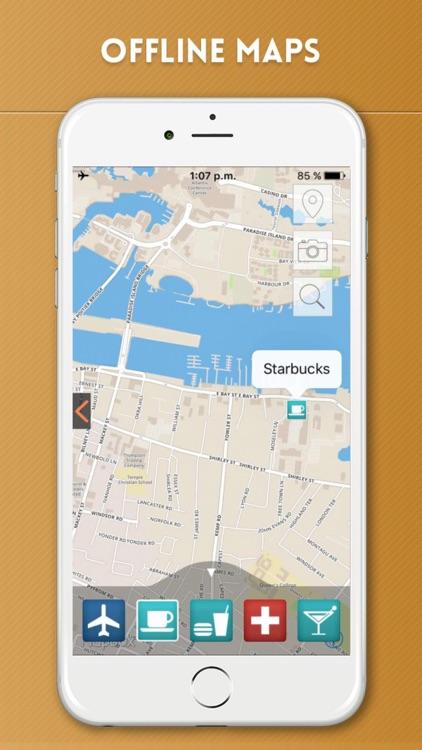 Bahamas Travel Guide and Offline Street Maps screenshot-4