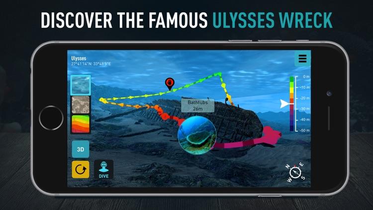 Ulysses Scuba Diving by Ocean Maps