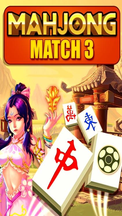 Mahjong Match-3 Swipe Majong Tiles Puzzle games screenshot-4