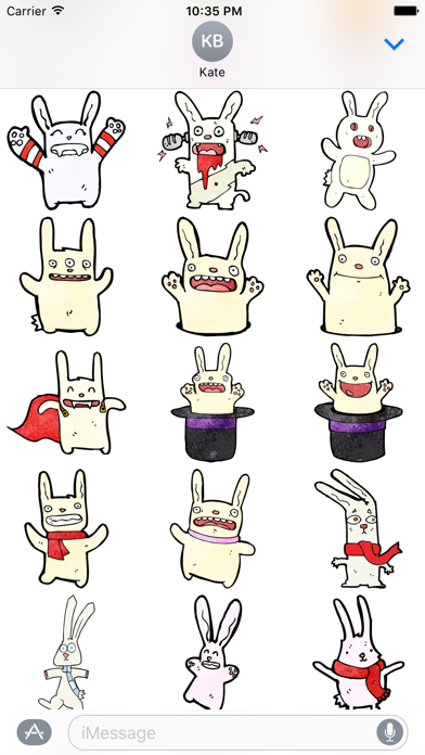 Bunnies! The DoodleBomb Collection screenshot two