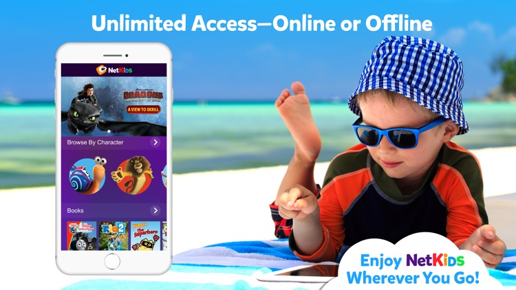 NetKids Digital Entertainment Network for Kids screenshot-4