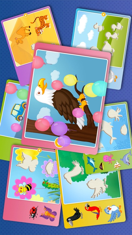 Kids Animal games-SmartPuzzles screenshot-4