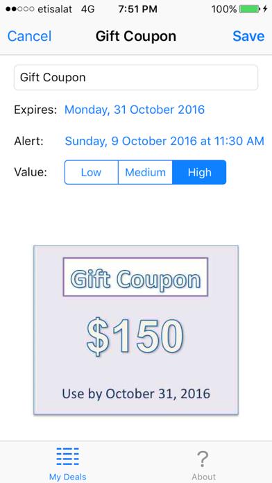 My Deal Alert screenshot two