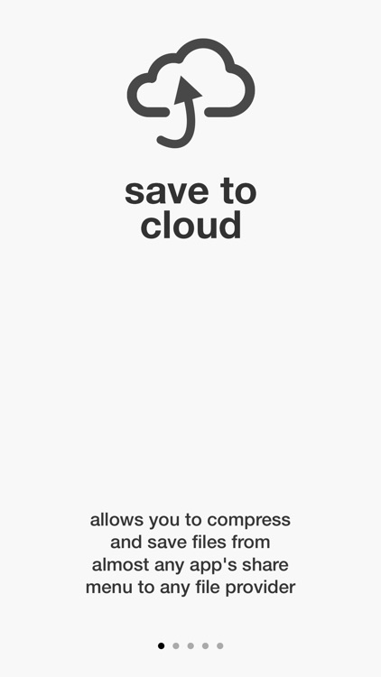Save to Cloud - zip & save
