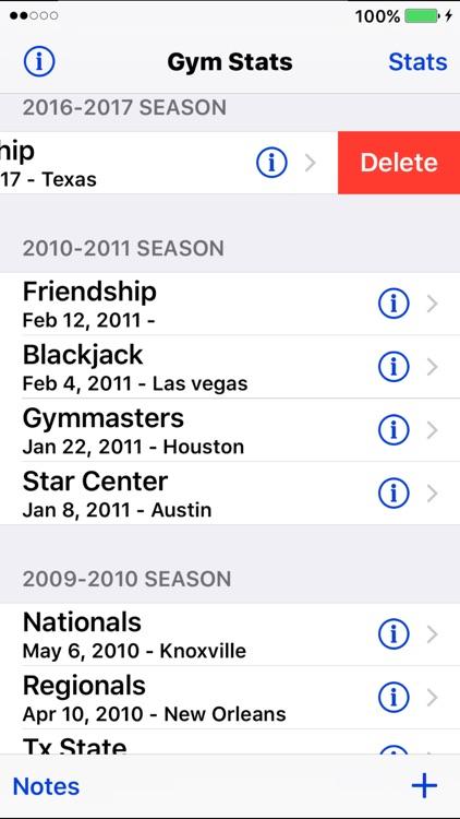 GymStats screenshot-4