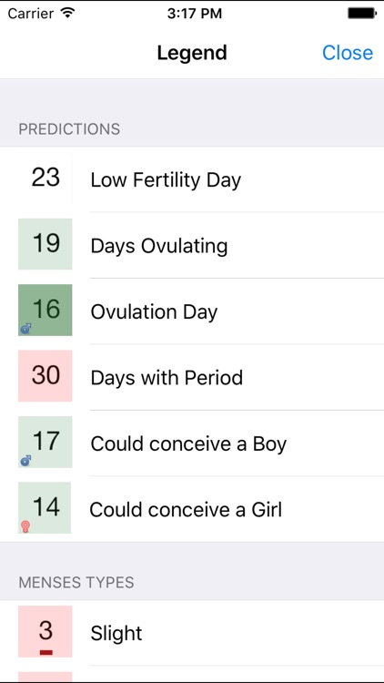 Ovulation Calendar Diary screenshot-1