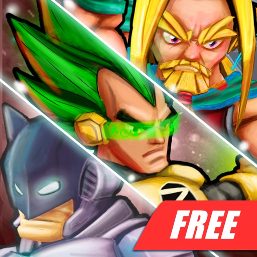 Superheros 2 Free fighting games iOS App
