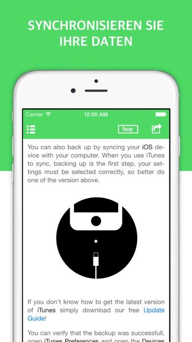 Backup Guide für iPhone und iTunes - Fotos und Kontakte synchronisierenScreenshot von 4