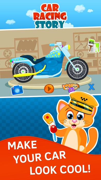 Car Racing for Toddlers and Kids. Premium screenshot three