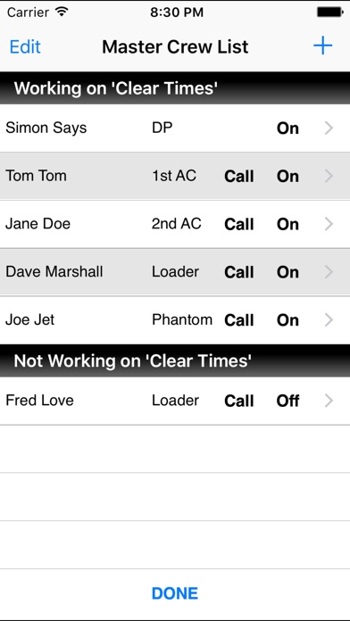 screenshot 3 for department time card - Time Card App