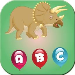 ABC Dinosaurs Merge Writing Handwriting Listening