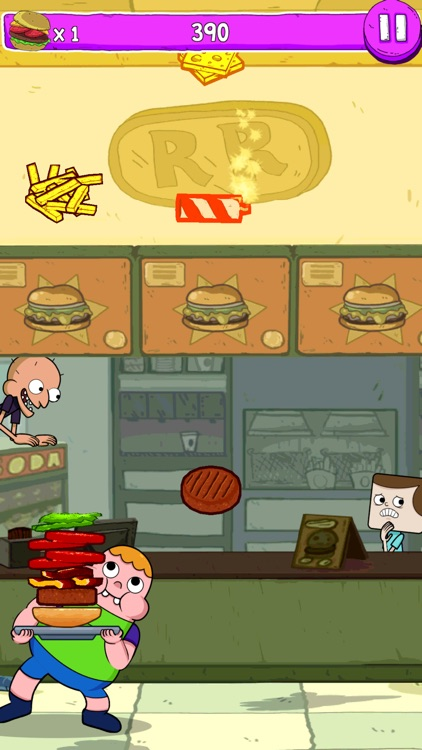 Blamburger – Clarence Fun Burger Building Arcade screenshot-0