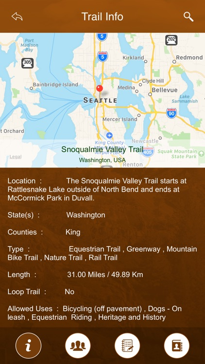 Washington Trails screenshot-3