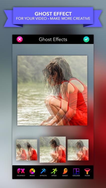 Video Ghost-Horror Film Mirror Collage Maker