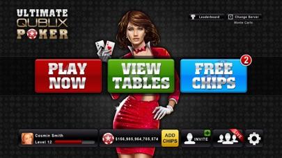 Ultimate Qublix Poker screenshot one