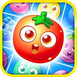 Pop Farm Fruit Match 3 Puzzle Games