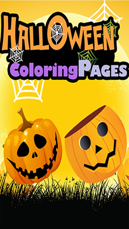Halloween Coloring Page