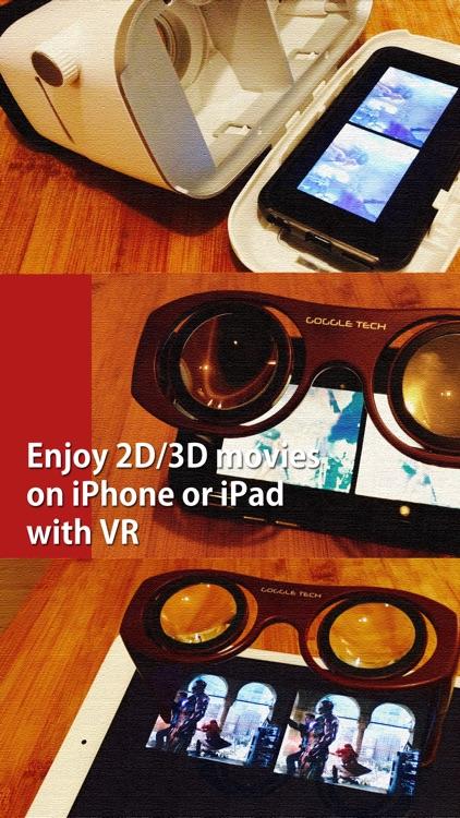 VRPlayer Pro : 2D & 3D & 360° Video Player for VR