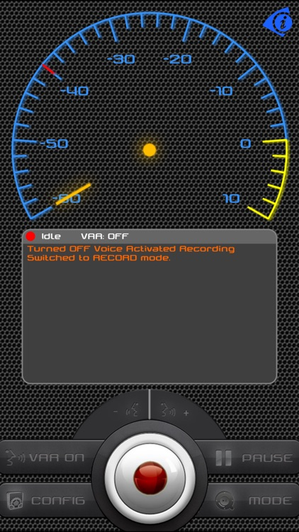 iEarsPro Recorder-Voice activate background record screenshot-0