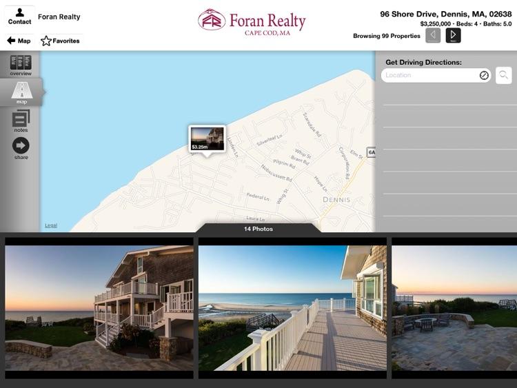 Cape Cod Properties for iPad