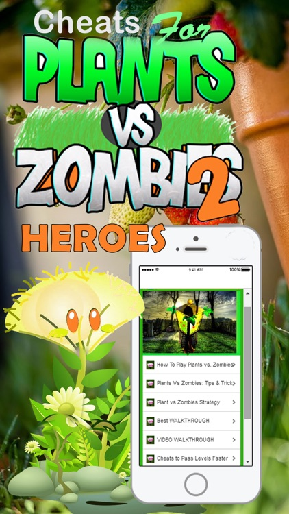 Cheats Guide for Plants vs. Zombies 2 Heroes