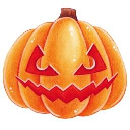 Halloween Hand-Drawn Stickers
