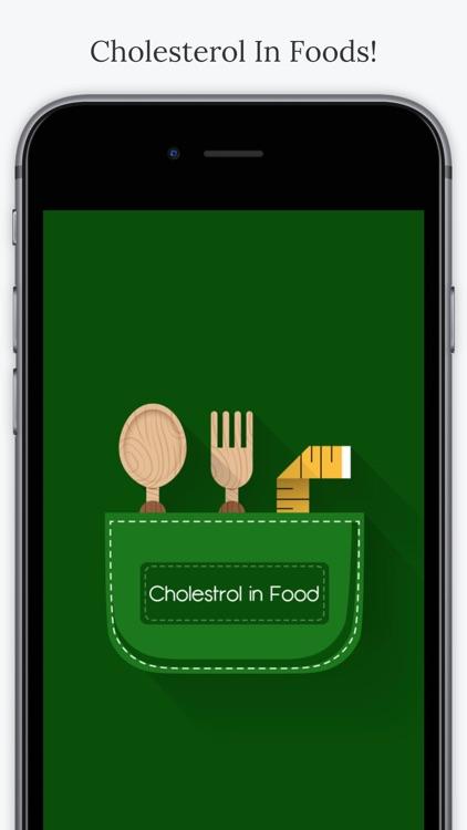 Cholesterol In Foods