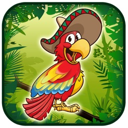 The Flappy Happy Parrot : Awesome bird  Game against gravity beyond the possiblities