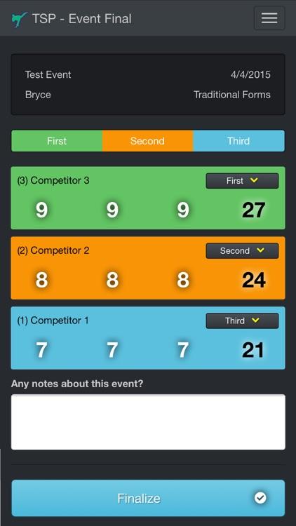 Tournament Scorecard Pro screenshot-3