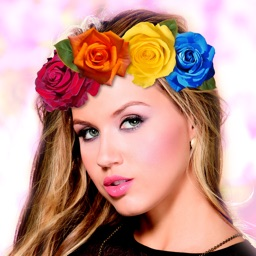 Flower Crown Beauty Photo Editor Wedding Hairstyle