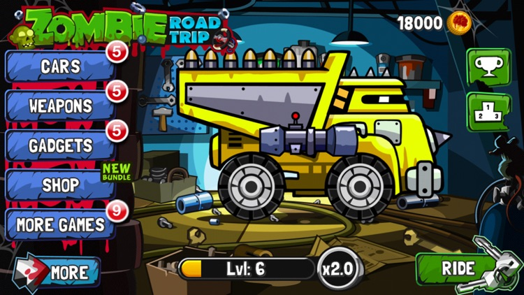 Zombie Road Trip screenshot-1