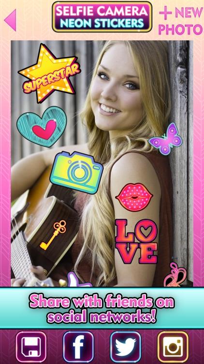 Fun Camera Photo Stickers & Beauty Selfie Editor screenshot-4