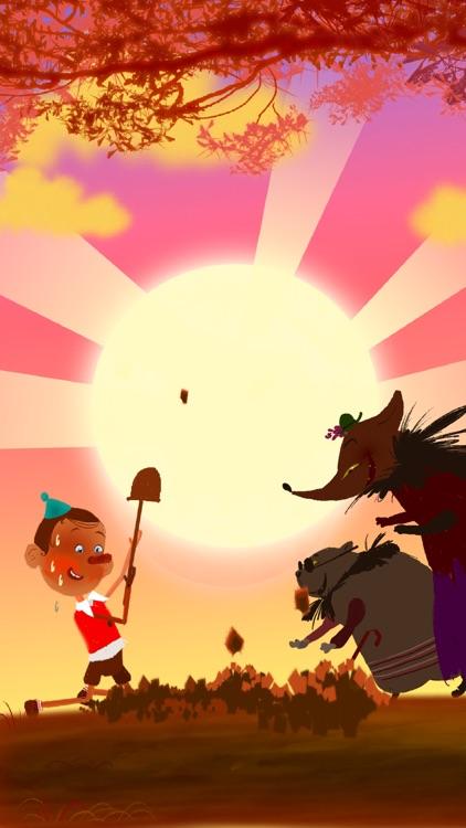 Pinocchio. Interactive Bedtime Story screenshot-4