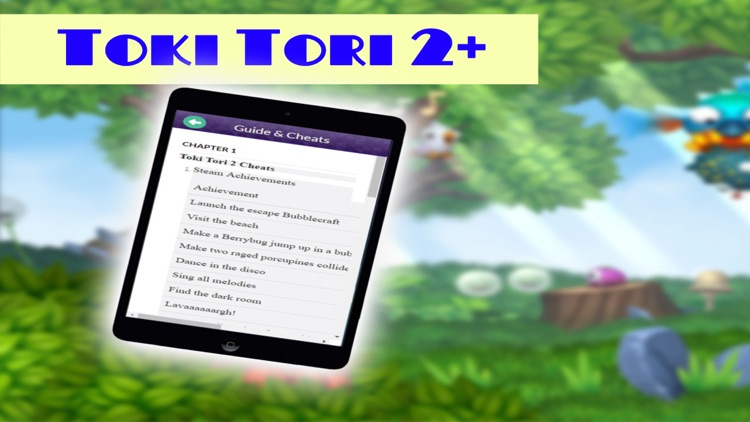 PRO - Toki Tori 2+ Game Version Guide