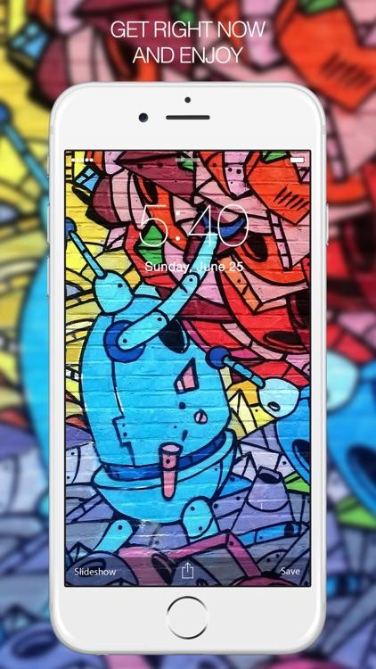 Graffiti Arts – Graffiti Wallpapers & Backgrounds screenshot-4