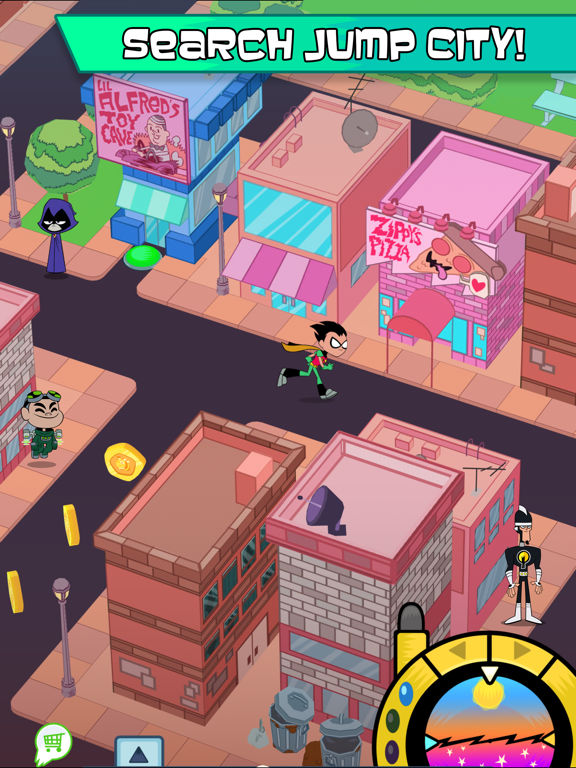 Teeny Titans tablet App screenshot 4
