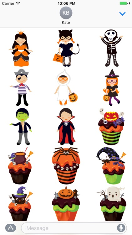 Crazy Halloween Sticker for iMessage #12