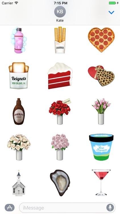 KIMOJI Stickers - V-Day Pack